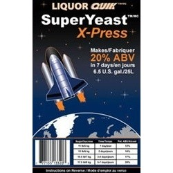 LIQUOR QUIK SuperYeast™ X-Press""